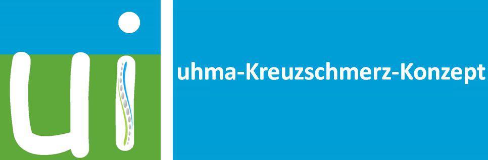 Logo uhma-Kreuzschmerz-Konzept
