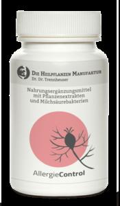 """Produktfoto der AMM-Produktempfehlung """"AllergieControl"""" von """"Die HeilpflanzenManufaktur"""""""