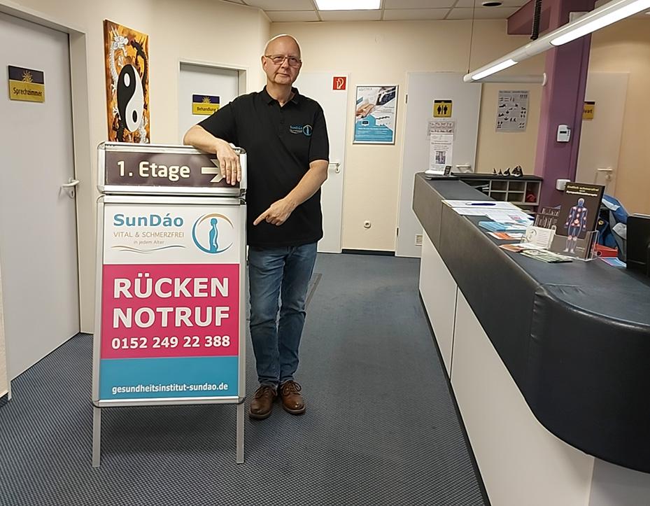 Foto: Rücken-Notruf von AMM-Netzwerkpartner Andreas Dohrmann