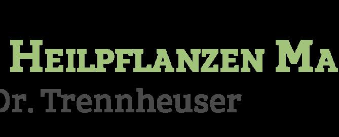 """Logo des AMM-Netzwerkpartners """"DHM – Die HeilpflanzenManufaktur"""" von Dr. Trennheuser"""