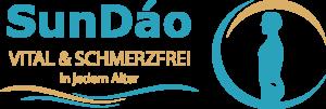 """Logo """"SunDáo vital & schmerzfrei"""" von AMM-Netzwerkpartner Andreas Dohrmann"""