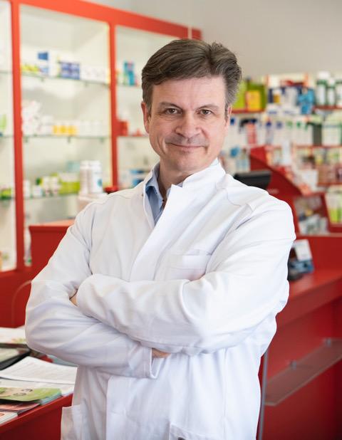 Portrait des AMM-Netzwerkpartners Dr. Trennheuser von der Marienapotheke Saarlouis