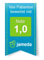 """jameda Note1""""-Siegel der AMM-Netzwerkpartnerin Ina Langer – Heilpraktiker"""