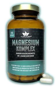 """AMM-Produktempfehlung """"Magnesium-Komplex"""" mit 4 Magnesiumformen von naturalie"""