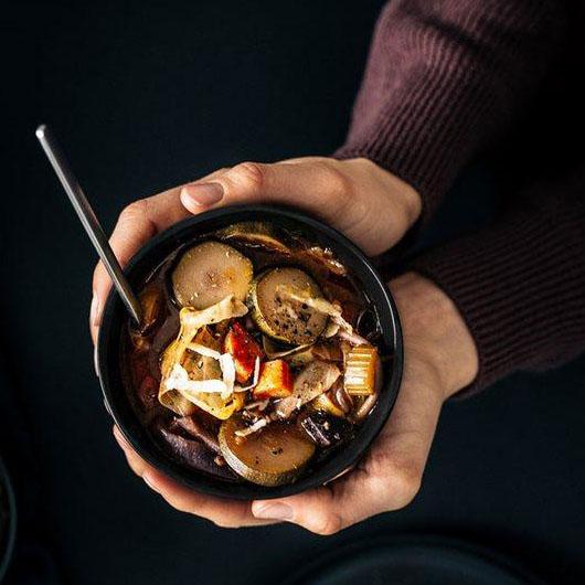 Foto: Suppenschale mit BROX-Brühe