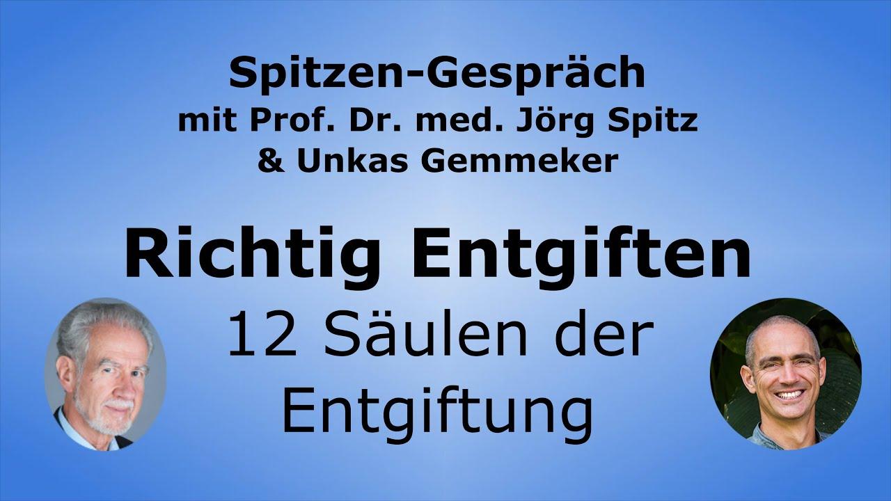 Prof. Dr. Jörg Spitz und Unkas Gemmeker