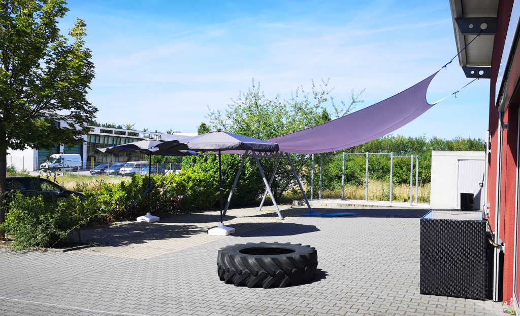 Outdoor-Fitnessparcours von AMM-Netzwerkpartner Danny Eckers
