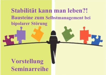 """Seminar-Banner zu Reihe: """"Stabilität kann man leben?!"""""""