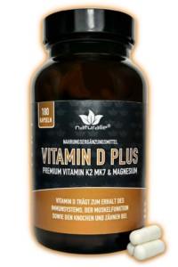 """AMM-Produktempfehlung """"Vitamin D Plus"""" von naturalie"""
