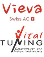 Logo: Vieva Swiss/Vitaltuning  – moderne Analysemethoden
