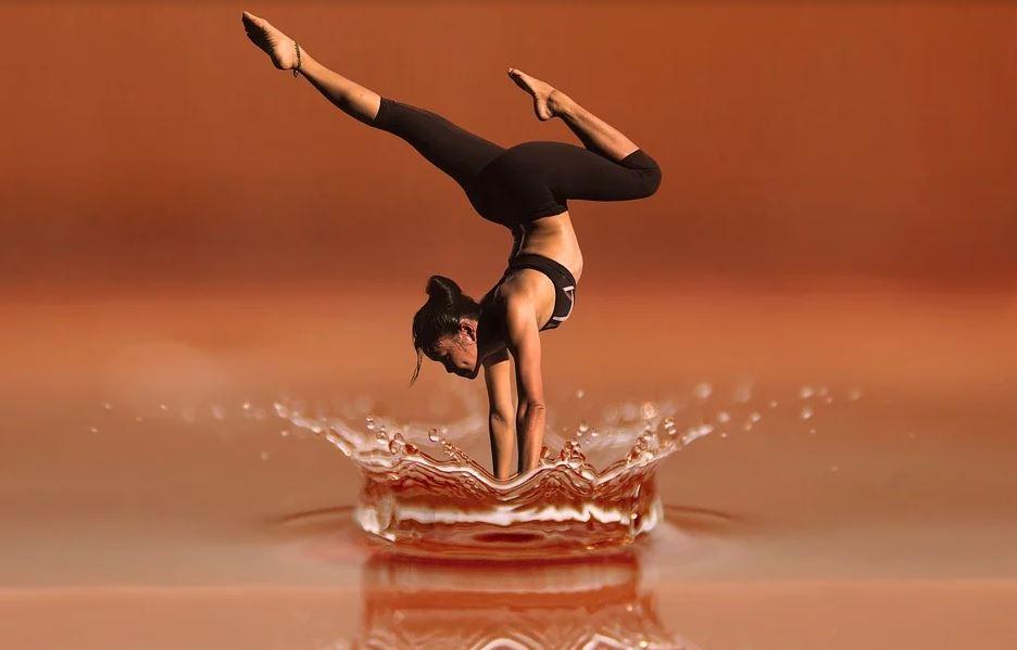 Yoga Wasser