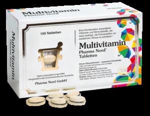 """Abbildung der AMM-Produktempfehlung """"Multivitamin"""" der Pharma Nord GmbH"""