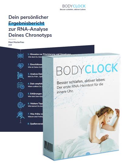 Abbildung der AMM-Produktempfehlung BodyClock