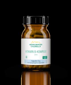 "Produktempfehlung ""Vitamin B-Komplex aktiv"" des AMM-Marktplatzpartners ""Heidelberger Chlorella"""
