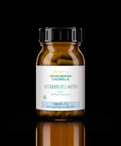 "Produktempfehlung ""Vitamin B12 aktiv"" des AMM-Marktplatzpartners ""Heidelberger Chlorella"""